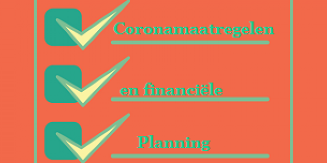 Coronamaatregelen en financiele planning